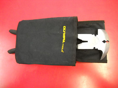 Olympia 10 1/2 Fence Pliers & Staple Pouch 2pc Set