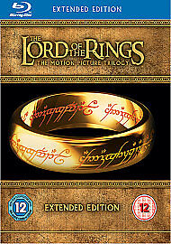 The Lord Of The Rings Trilogy (Blu-ray, 2011, 15-Disc Set, Extended Edition)