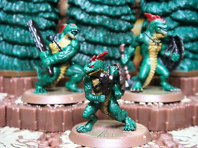 Greenscale Warriors - Heroscape Wave 11 - D1 Champions of the Forgotten Realms
