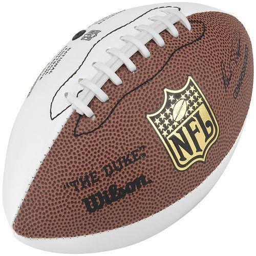 Wilson Nfl Mini Replica the Duke Autograph Football