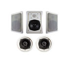 5.1 System In-Ceiling/In-Wall Home Speakers and Subwoofers