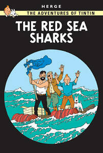 The-Red-Sea-Sharks-Adventures-of-Tintin-NEW-BOOK