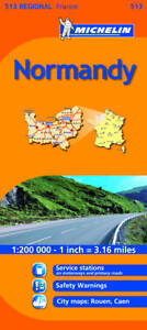 Michelin Map France: Normandy 513 (Maps/Regional (Michelin)) (Map)