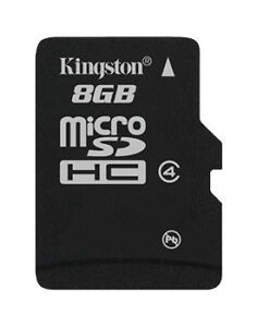 68fd3896c Kingston 8GB Micro SDHC Class 4 Memory Card for sale online