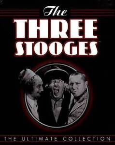 The Three Stooges: The Ultimate Collection (DVD, 2012, 20-Disc) LN-18117-38-016