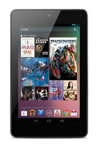Nexus 7 16GB, Wi-Fi, 7in - Black