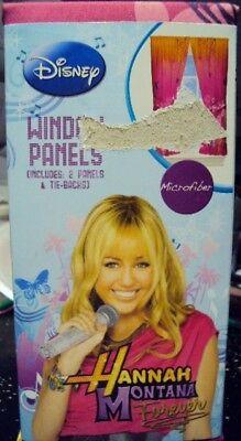 Disney Hannah Montana Forever Pink Window Panels