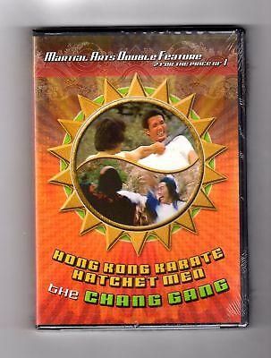 Hong Kong Karate Hatchet Men / The Chang Gang (dvd) Brand