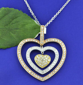 2-10-ct-TRI-COLOR-GOLD-DIAMOND-HEART-PENDANT-14k-rose-white-and-yellow-gold