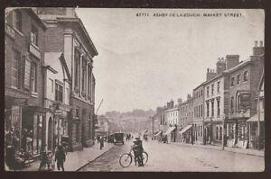 Leicestershire-ASHBY-DE-LA-ZOUCH-Market-St-PPC