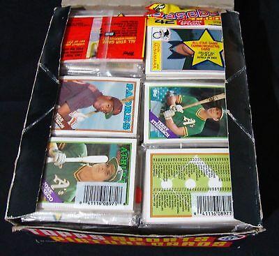 1988 Topps Baseball Rack Packs 42 Cards MLB