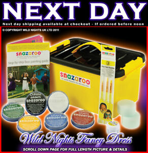 SNAZAROO PROFESSIONAL MINI PAINT/PAINTING KIT 300+ FACE