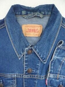 VINTAGE LEVIS LADIES DENIM JACKET MEDIUM BLUE MEDIUM LJKT T169