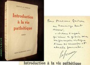 INTRODUCTION-A-LA-VIE-PATHETIQUE-DE-LA-FREMOIRE-1ere-Edition-1928-envoi-signe