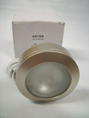 American Fluorescent Light Round Surface Mounted In Stainless