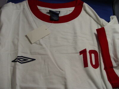 Umbro 10 Cotton Soccer/casual Jersey Authentic