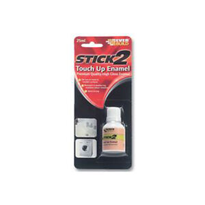 Everbuild enamel touch up pen 25 ml WHITE