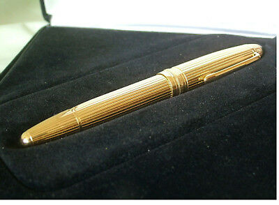 MONTBLANC 18k SOLID GOLD 149 DIPLOMAT FOUNTAIN PEN NEW IN BOX