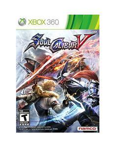 NEW-Soulcalibur-Soul-Calibur-V-5-Xbox-360-2012-NTSC