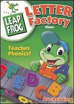 leapfrog letter factory phonics euc leap frog letter factory dvd teaches phonics 22720