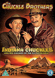 Chuckle Brothers  Indiana Chuckle And The Kingdom Of The Mythical Sulk DVD 20 - widnes, Cheshire, United Kingdom - Chuckle Brothers  Indiana Chuckle And The Kingdom Of The Mythical Sulk DVD 20 - widnes, Cheshire, United Kingdom