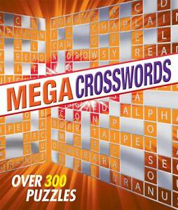 Mega-Crosswords-Over-300-Puzzles-by-Arcturus-Publishing-Ltd-Book-Paperback-NEW-2