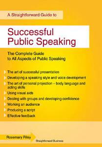 Successful Public Speaking: Straightforward Guide-ExLibrary