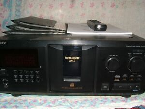 Sony Mega CD/DVD Changer
