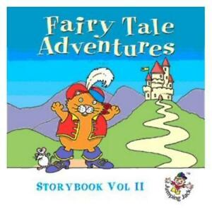 FAIRY-TALE-ADVENTURES-STORYBOOK-V-II-CHILDRENS-CD