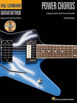 Hal Leonard Guitar Method: Power Chords (Book/CD) by Kirk Tatnall ...