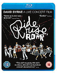Ride, Rise, Roar (Blu-ray, 2011) David Byrne (Talking Heads) New and Sealed