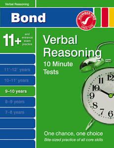 Bond-Ten-Minute-Tests-9-10-years-Verbal-Reasoning-Bond-10-Minute-Tests-France