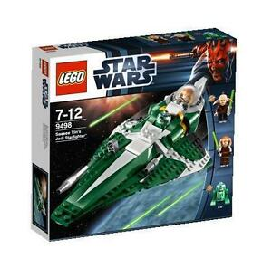 LEGO 9498 Star Wars Saesee Tiin's Jedi Starfighter with Minifigs & Manual