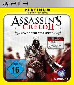 Assassin's Creed II -- Game of the Year Edition (Platinum) (Sony PlayStation 3,
