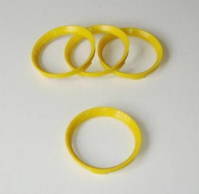 4 Centre Spigot Rings for Inovit 73.1mm for Peugeot 307