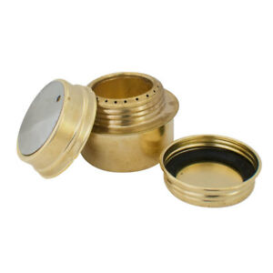 BRASS-ALCOHOL-METHS-SPIRIT-STOVE-COOKER-BURNER-CAMPING-ARMY-SAS-SF-SURVIVAL