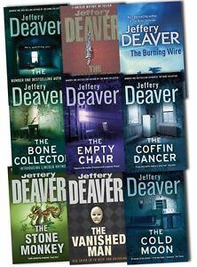 Jeffery deaver books lincoln rhyme series