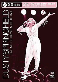 Dusty-Springfield-LIVE-Royal-Albert-Hall-NEW-SEALED-DVD-CD-Collectors-Edition