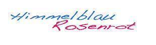 himmelblau-rosenrot
