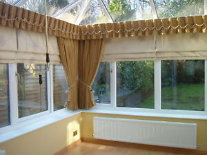 CONSERVATORY CURTAINS amp PELMET ALL MADE TO ORDER EBay