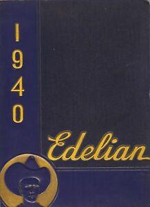Toledo-OH-Edward-Drummond-Libbey-High-School-yearbook-1940-Ohio