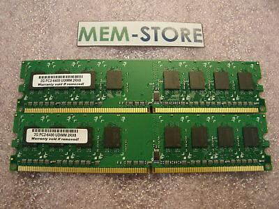 4gb(2x2gb) Ddr2 800mhz Unbuffered Non Ecc Memory Gateway Dx4640-ub101a Dx4720-03