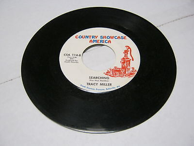 Tracy Miller Searching/You Know The Way To Get 45 RPM