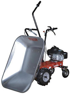 Wheelbarrow micro dumper power barrow muck truck ebay for Motorized wheelbarrows for sale