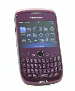 BlackBerry Curve 8530 - Royal purple (Sprint) Smartphone