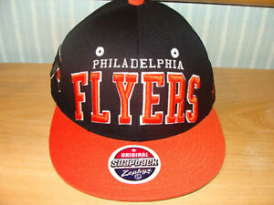 Zephyr-Philadelphia-Flyers-Snapback-Cap-Hat-NHL-Black