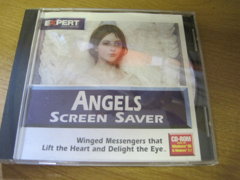 ANGELS SCREEN SAVER WINDOWS 95 WINDOWS 3.1 ENCHANTING IMAGES