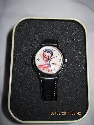 Collectible Betty Boop Watch & Tin 2003