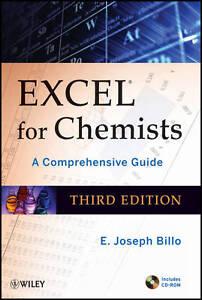 Excel for Chemists, E. Joseph Billo
