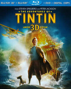 The Adventures of Tintin (Blu-ray/DVD, 2...
